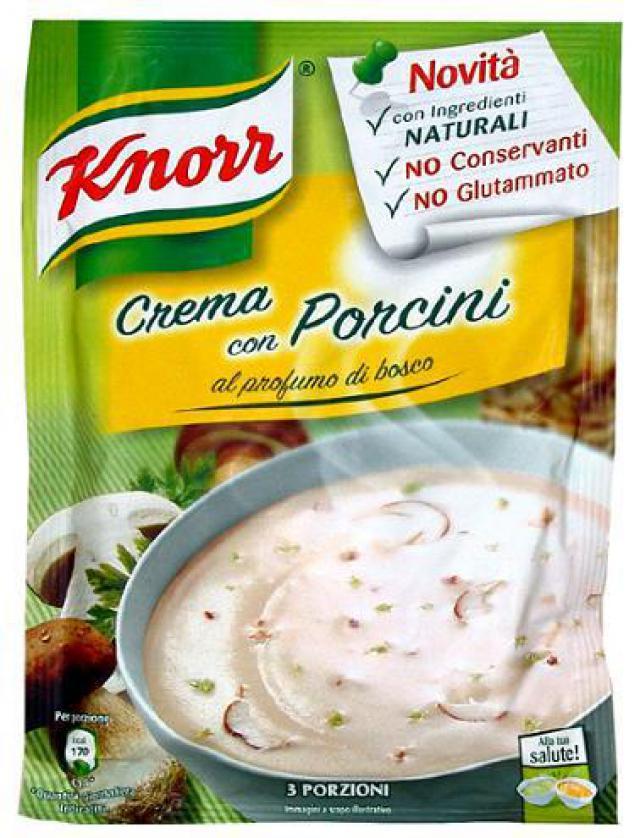 Knorr Vargányakrémleves