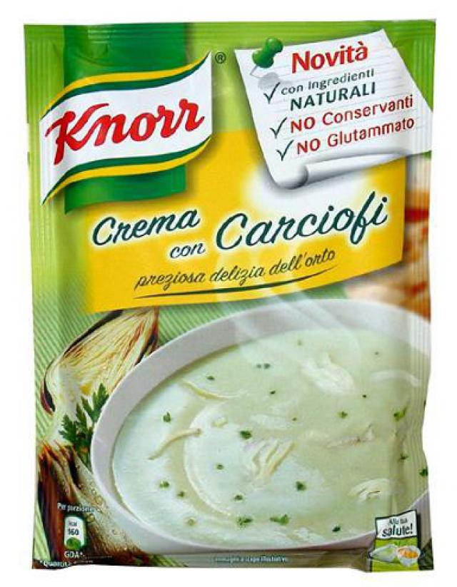 Knorr Articsókakrémleves