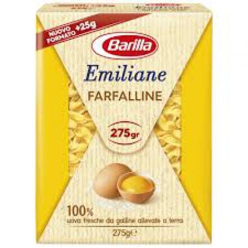 Barilla emiliane Farfalline tészta 275g