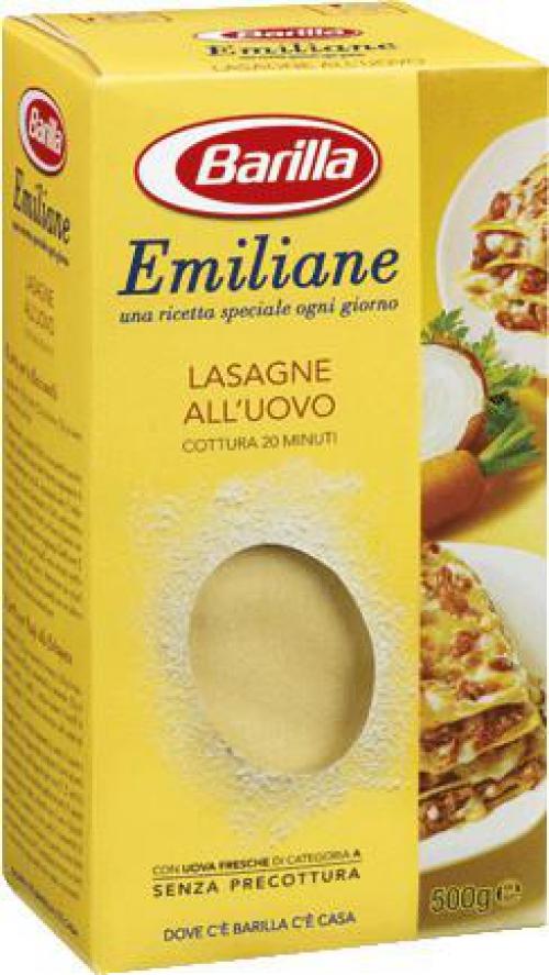 Barilla Lasagne tojásos tészta 500g