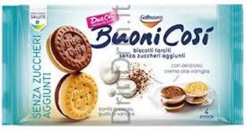 Buoncosi cukormentes keksz tejkrémmel 160g
