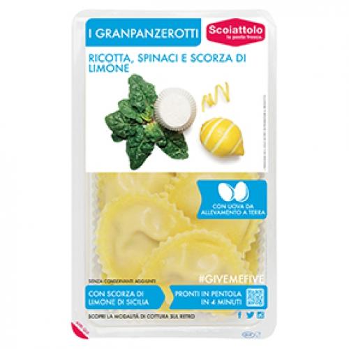 Scoiattolo ricottával,spenóttal és citromhéjjal granpanzerotti 250g