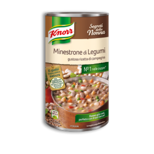 Knorr minestrone leves legumival 500g