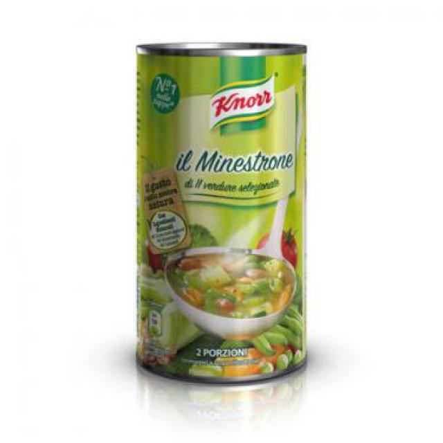 Knorr minestrone leves 11 féle zöldséggel 500g