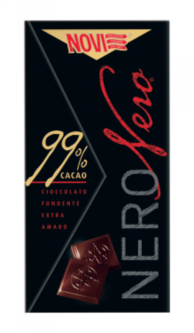 Novi különleges étcsokoládé 99%-os csokoládétartalommal  75g