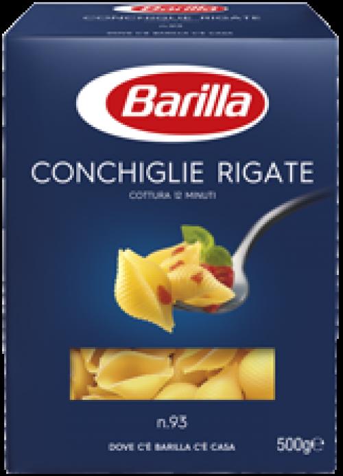 Barilla Conchiglie Rigate tészta 500g